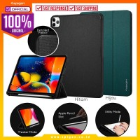 "Case iPad Pro 11""(2020/2018) Spigen Urban Fit Fabric Flip Cover Casing"