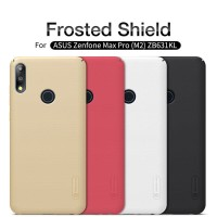 Zenfone Max Pro M2 ZB631KL NILLKIN Frosted HardCase Hard Case Original - Hitam