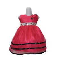 Dress Kids Elena Uk 1-4 Tahun / Dress Gaun Anak Murah Berualitas