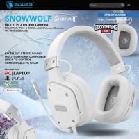 Sades Snowwolf - Gaming Headset