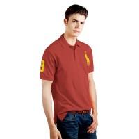 Promo Polo Ralph Lauren Polo Shirt Kaos Laki laki Original -Kuda Besar