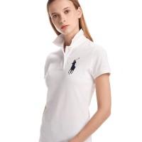 Promo Polo Ralph Lauren Polo Shirt Kaos Wanita Original ( Kuda Besar )