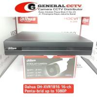 Dvr Dahua 16 Channel XVR1B16 Pentabrid HDCVI/AHD/TVI/CVBS/IPC Original