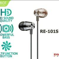 Earphone Original Robot RE101 RE 101 Headset Ear Phone Handsfree