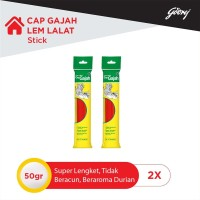 Cap Gajah Lem Lalat Stick 12s- 2pcs