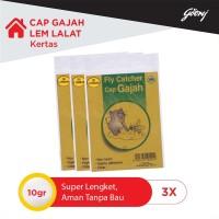 Cap Gajah Lem Lalat Kertas 3s- 3pcs