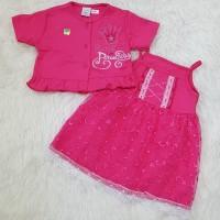 Baju Dress Anak Bayi Perempuan Dress Bolero Anak Brokat Princess