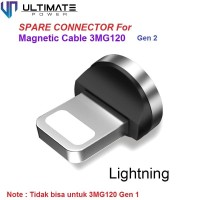 Ultimate Konektor Charger Lightning untuk Magnetic Cable 3MG120 Gen 2