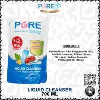 PURE BABY LIQUID CLEANSER 700 ML 1 PCS PUREBABY PURE BB - REFILL