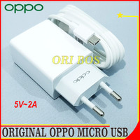 Charger Oppo F3 F5 F5 Youth F7 F7 Youth ORIGINAL 100% Micro USB 2A