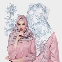 Hijab segi empat by Hera.collections Evia scarf - Putih