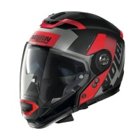 Nolan N702GT Celeres 031 Flat Black Red