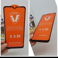 tempered glass warna / full all type iphone dan android