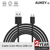 Aukey Cable CB-D11 3.2 M Micro USB Cable Data Charger