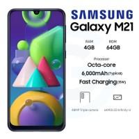 Samsung Galaxy M21 4/64 Ram 4GB Internal 64GB Garansi Resmi Sein