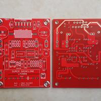 PCB LM3886 Amp Dauble layer Sch Bob Cordell