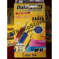Tinta Data Print DP 41 Colour for Canon Printer