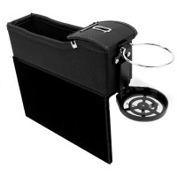 Kotak Organizer Box Celah Kursi Mobil Penyimpanan Barang di Mobil Seat