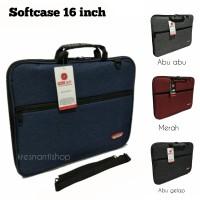 tas laptop 16 inchi softcase laptop polo Alif 16 inchi