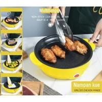 Korean Multifungsi Panci BBQ Grill / Electric Baking Tray 22CM