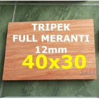 FULL MERANTI Triplek 12mm Multiplek Ukuran 40cm x 30cm