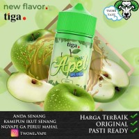 Liquid Petik Apel by Tiga 100% Authentic - Liquid Apel Apple Dingin