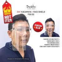 Faceshield Pelindung Muka Safety APD FSG002