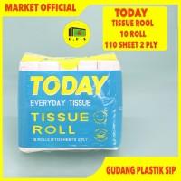 Tissue Today // Toilet Coreless // 10 ROLLS // 110 Sheet 2 Ply