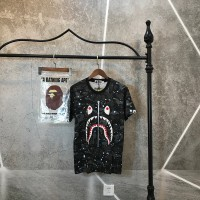 T-SHIRT BAPE MIRROR SPACE SHARK GLOW IMPOR PERFECT CLONE QUALITY 1 1
