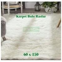 Karpet Bulu Rasfur 60 x 150
