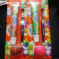 KODOMO sikat gigi+odol GRAPE free mainan di dalam kemasan