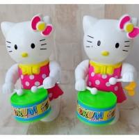 Mainan Lucu Boneka Hello Kitty Mukul Drum