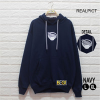 Hoodie Ramen Navy Casual Reapict Daily Streetwear Outfit Kampus Modis