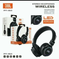 HEADPHONE BLUETOOTH JBL PPT860 HEADPHONE WIRELESS LED PPT-860