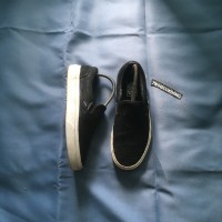Vans Slip On Black White Original