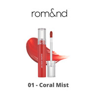 ROMAND - Glasting Water Tint (01 Coral Mist)