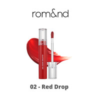 ROMAND - Glasting Water Tint (02 Red Drop)