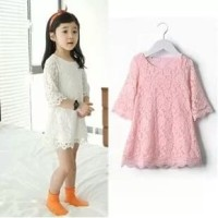 Dress Brokat Anak Vianna Lace Dress