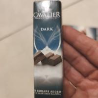 Cavalier Belgian Chocolatier Dark Mini with No Sugar Added 44 gram