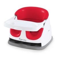 Ingenuity Baby Base 2 in 1 Poppy Red / Booster Seat / Kursi Makan Bayi