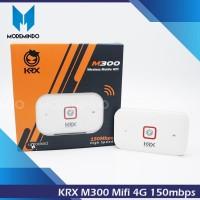 KRX M300 Mifi Mobile Wifi 4G LTE bisa Smartfren Bisa By Pass Baterai