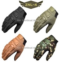 SARUNG TANGAN MECHANIX | BLACKHAWK | FULL FINGER | CODE : ZNL-4 - Cream, L