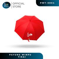 PAYUNG WINPU UMBRELLA SOCIAL DISTANCE UMBRELLA (CEGAH KORONA) - Merah