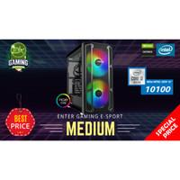 Paket PC Enter Gaming E-Sports MEDIUM INTEL I3-10100 X Nvidia 1660
