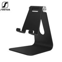 SEENDA IPZ-018 Adjustable Aluminum Mobile Phone & Pad Stand Holder BK