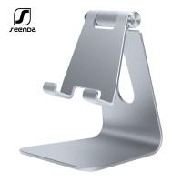 SEENDA IPZ-018 Adjustable Aluminum Mobile Phone & Pad Stand Holder SIL