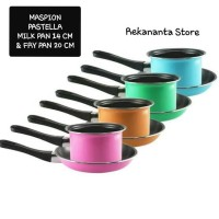 Panci Maspion Pastella 1 Set Dapat 2 Pcs - Panci Set Fry Pan Milk Pan