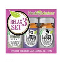 Dijual Relax 3 Gift Set Essential Oil [10 mL] Murah