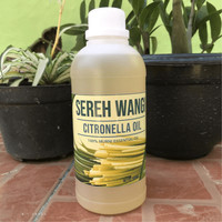 Citronella Essential Oil 500 mL Minyak Atsiri Sereh Wangi Lokal