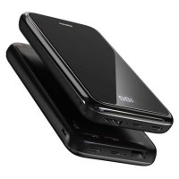 Remax Mirror Qi Wireless Charging Power Bank 2 Port 10000mAh - RPP-133